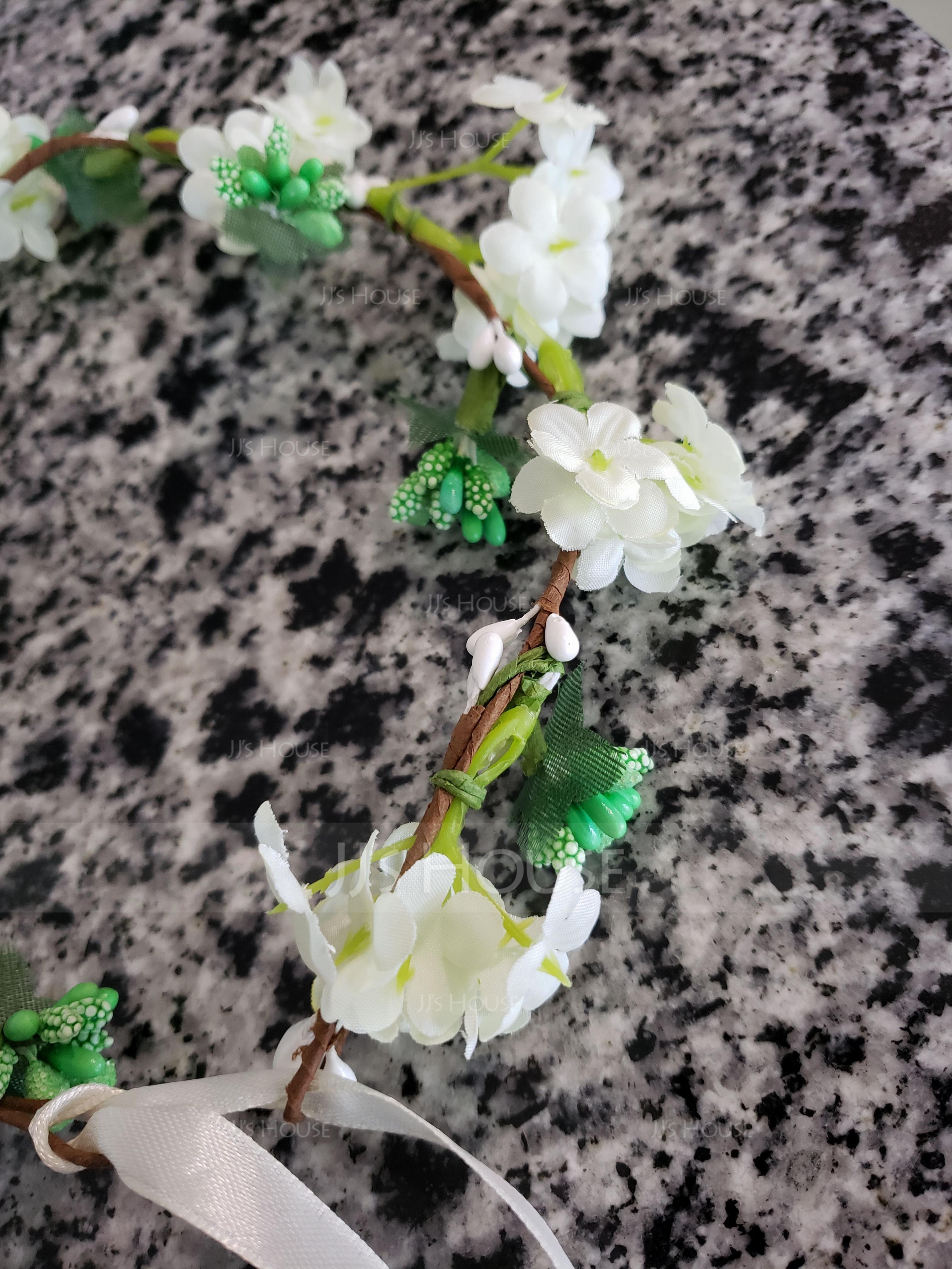 Silk Flower With Flower Flower Headband