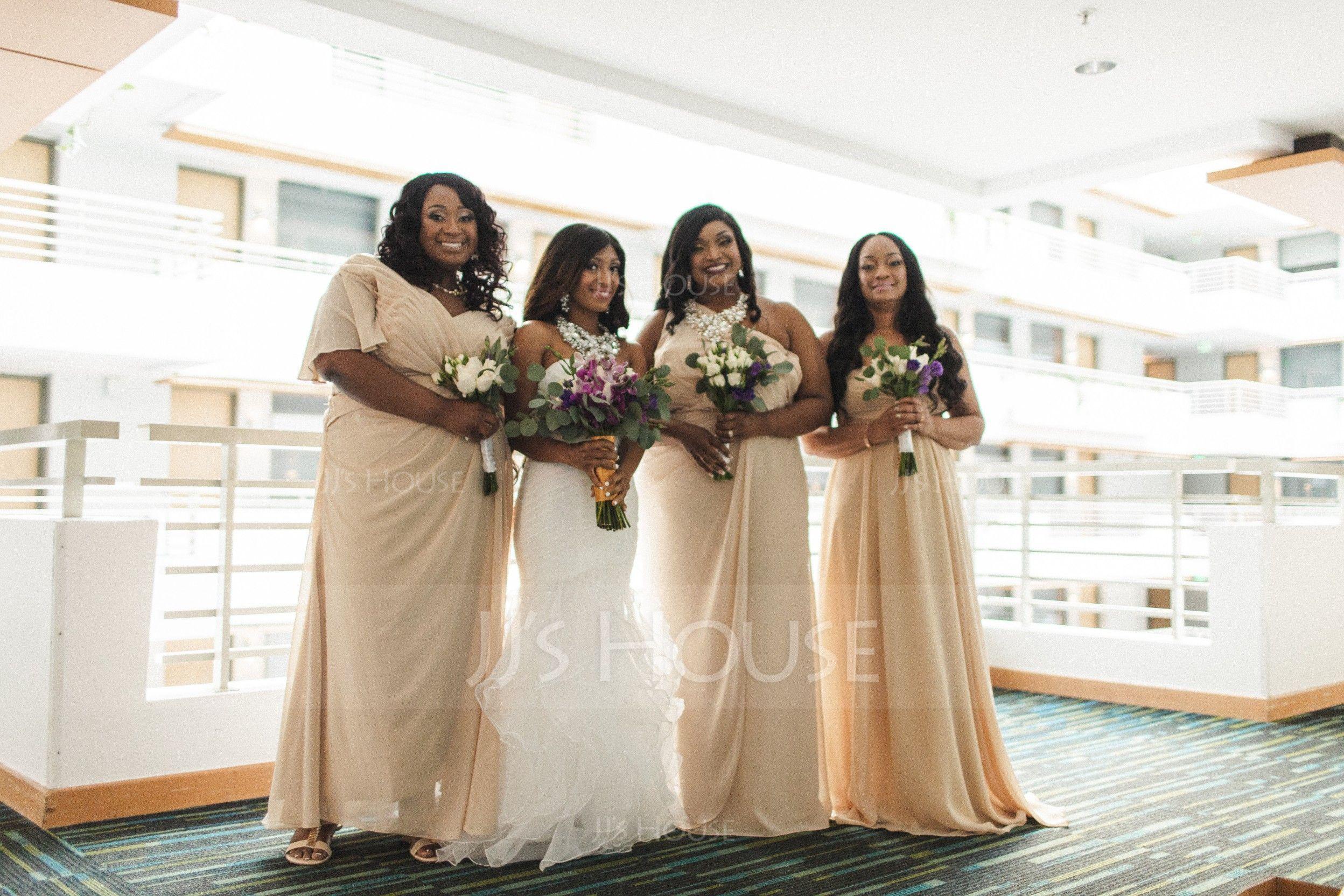 Trumpet/Mermaid Sweetheart Sweep Train Organza Wedding Dress With Beading Cascading Ruffles (002106062)